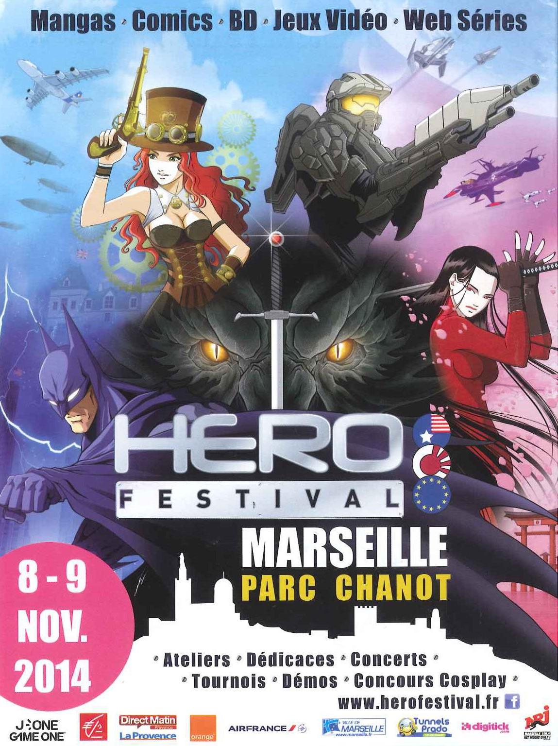 Affiche du Héro Festival